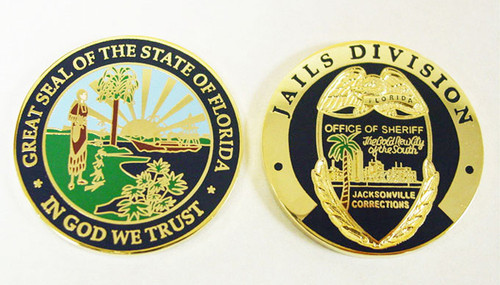 Jacksonville Corrections Coin
