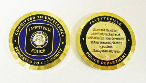 Fayetteville Police Coin