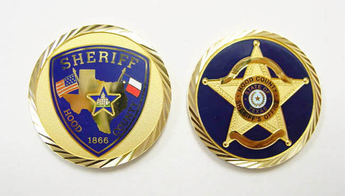 Hood County Sheriff's Office Coin