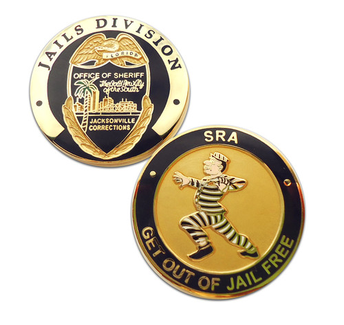 FL Jacksonville Sheriff`s Office Jails Division Coin