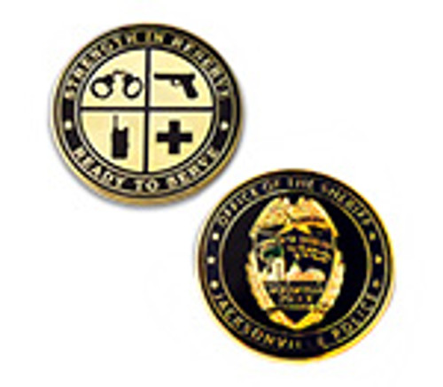 FL Jacksonville Sheriff`s Office Strength in Reserve Coin