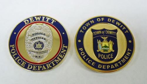 DeWitt Police Department Coin