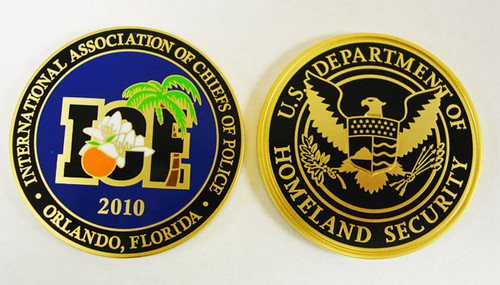 International Association of Chiefs of Police Coin