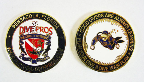 Florida Dive Pros Coin