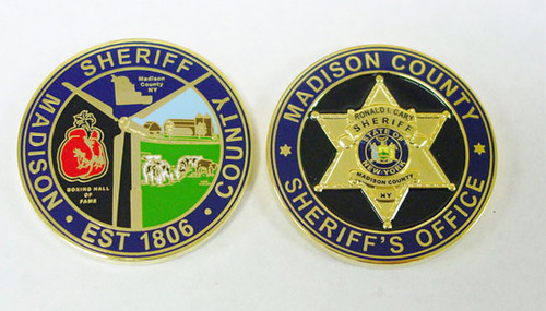 Madison County Sheriff`s Office Coin