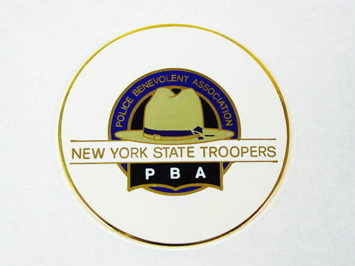 PBA NYS Troopers Coin