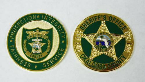 Okaloosa County Sheriff`s Office - Honesty Coin