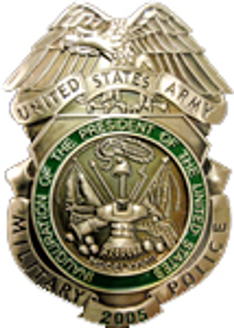 United States Army Military Police Badge - 2005