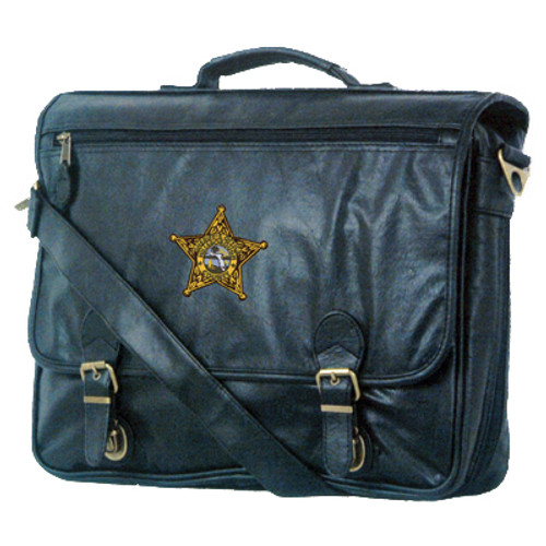 Hillsborough County Sheriff's Gold Star Attache Bag