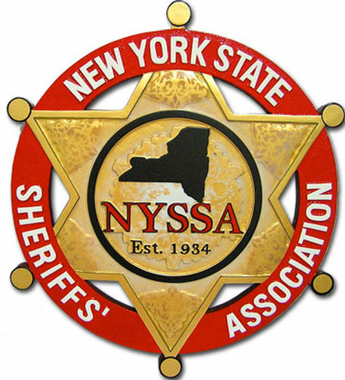 New York State Sheriffs' Association Plaque (All sizes)