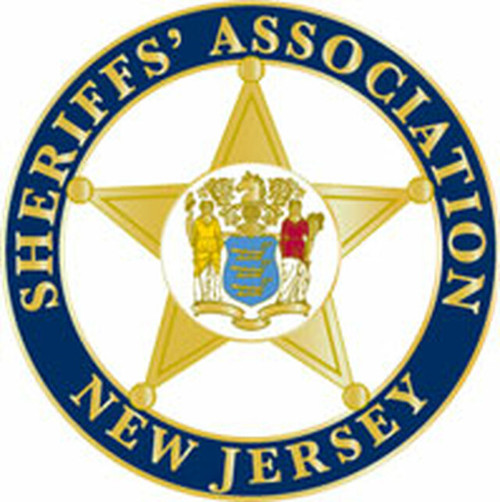 Sheriffs' Association of New Jersey Plaque (All sizes)