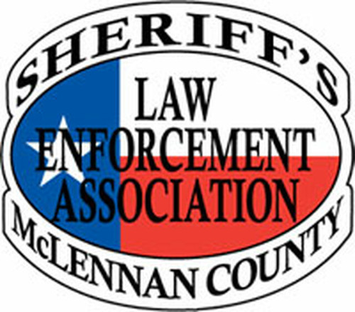 Sheriff's Law Enforcement Association of McLennan County Plaque (All sizes)