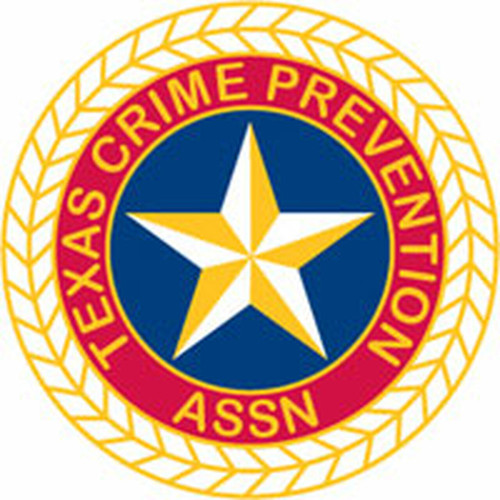 Texas Crime Prevention Association Plaque (All sizes)