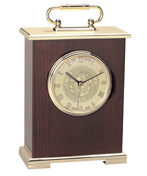 """Le Grande"" Carriage Mantle Clock"