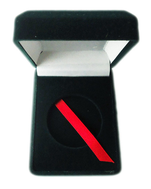 Velvet Coin Display Box - Green