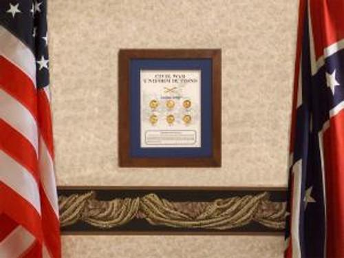 Union Civil War Button Set collectible