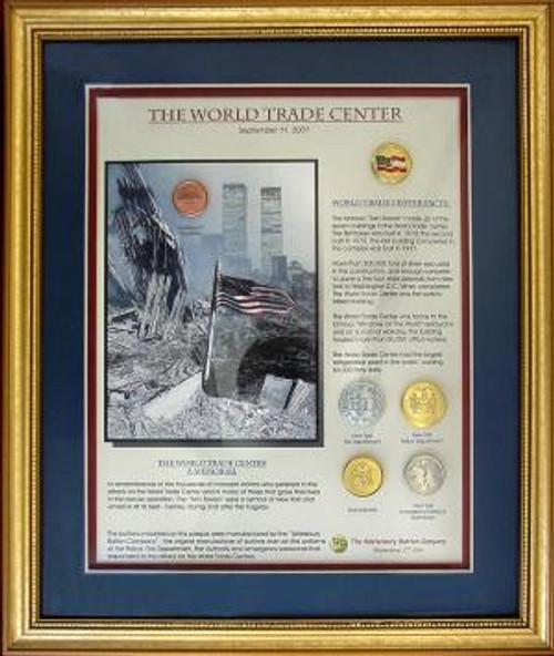 World Trade Center Button Set collectible