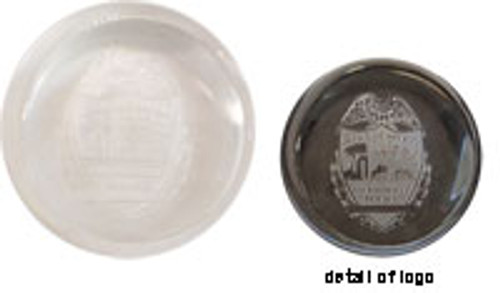 Jacksonville Slanted Dome Paperweight