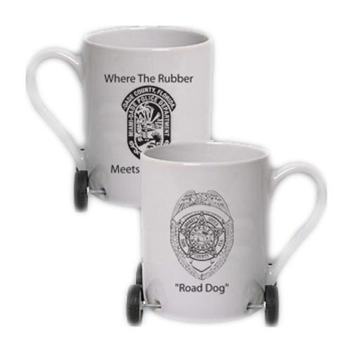 Miami-Dade Police Department 10 Oz. Wheelie Mug
