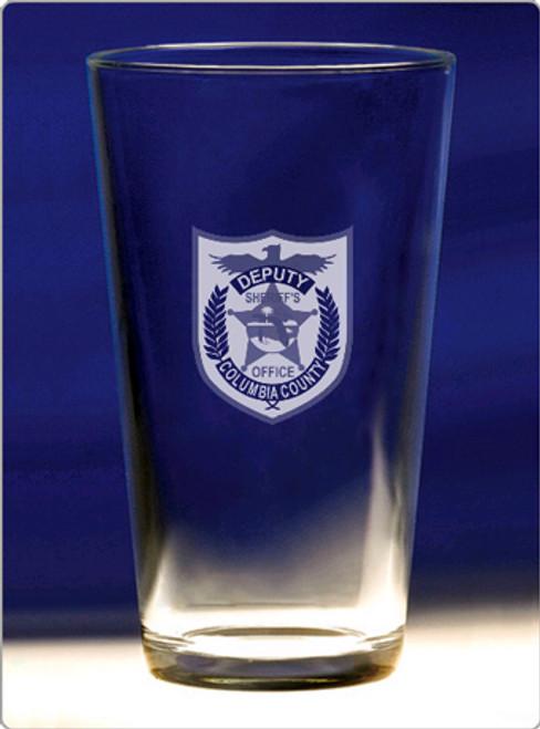 CCSO Microbrew Pint Glass (16oz) - Set of 4