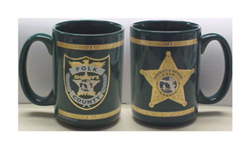 Polk County Sheriff's Office VIP El-Grande Mugs