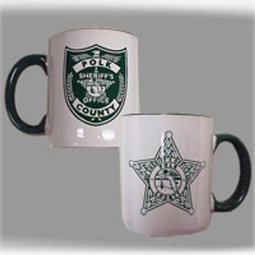 Polk County Sheriff's Office Two-Tone Mugs