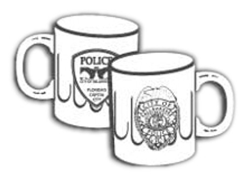 TPD Tallahassee Beveled Glass Mug