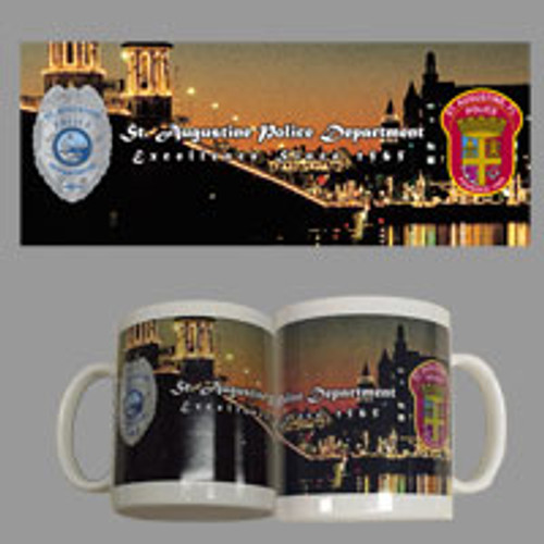 St. Augustine Police Department Full Color Mug