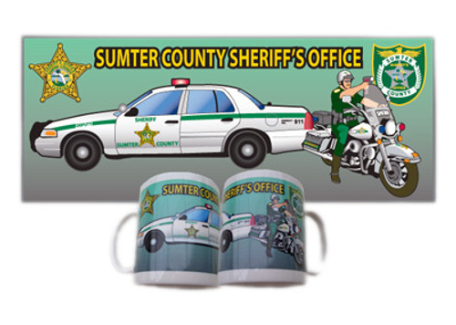 Sumter County Sheriff's Office Full Color Mug