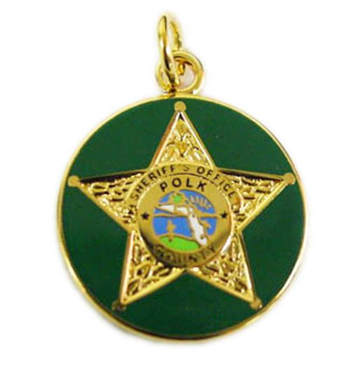 Polk County Sheriff's Office Charm