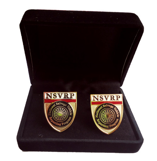 National Salvage Vehicle Reporting Program Cuff Links