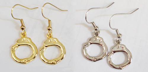 Handcuff Earrings (Pair)