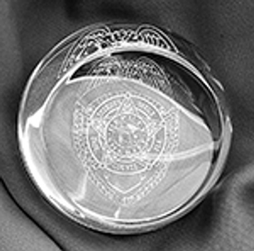 Dade County Sheriff's Office Paperweight