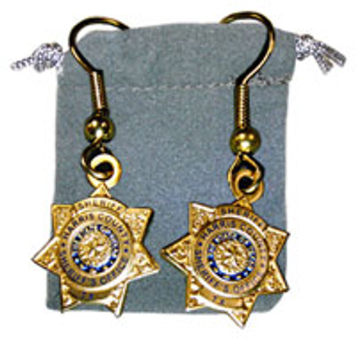 Harris County Sheriff's Office Earrings