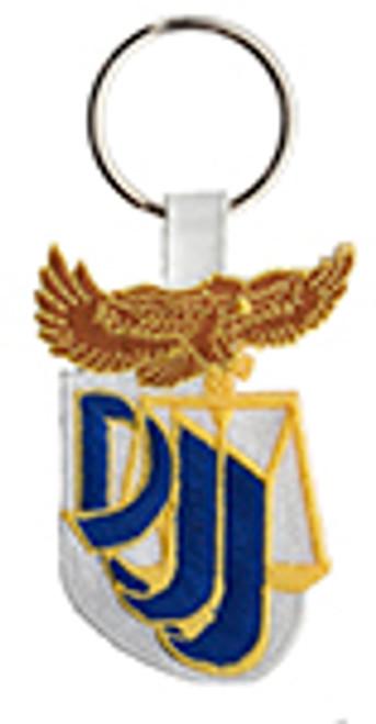 FLORIDA DEPARTMENT OF JUVENILE JUSTICE PATCH KEYRING