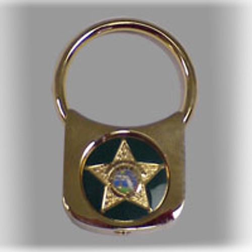 Polk County Sheriff's Office Satin Keyring