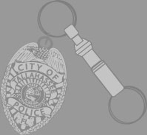 TPD Tallahassee Pewter Pull-A-Part KeyRing