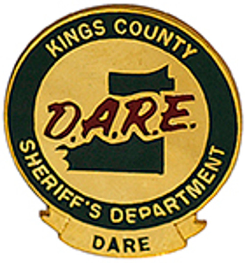 KINGS COUNTY SHERIFF'S DEPARTMENT DARE