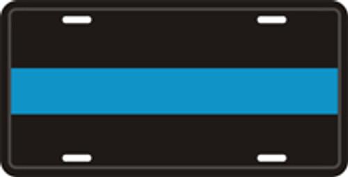 Thin Blue Line Plate
