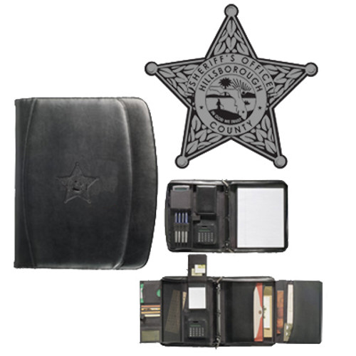 Hillsborough County Sheriff's Office Milano Deluxe Versa-Folio