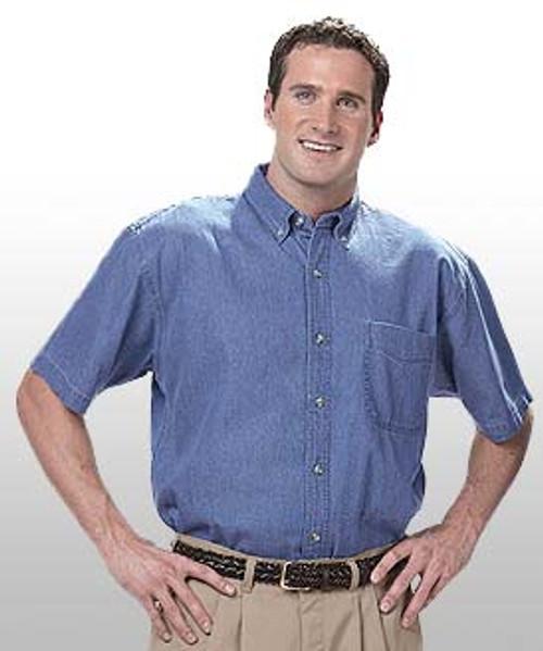 Men's Mid-Weight Denim Shirt SS