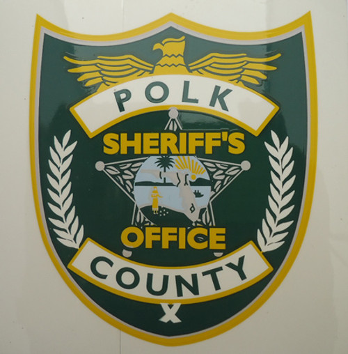 Polk County Sheriff's Office Inside Decal