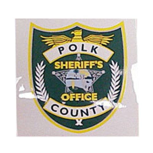 Polk County Sheriff's Office Decal with Adhesive Back