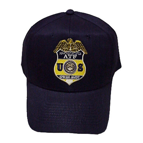 ATF Special Agent Badge Patch Hat-Sold and Shipped to ATF Agents ONLY