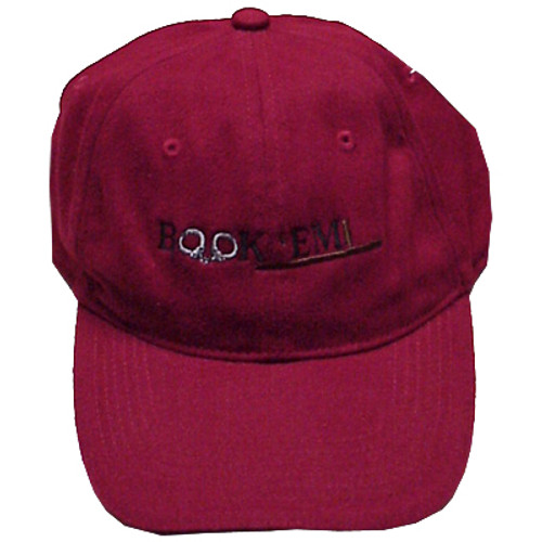Book 'Em Page and Tuttle Hat Red