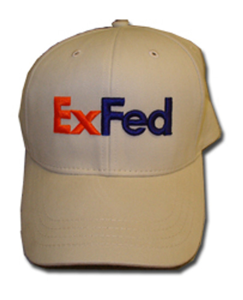 ExFed Hat Khaki with 3D logo embroidery