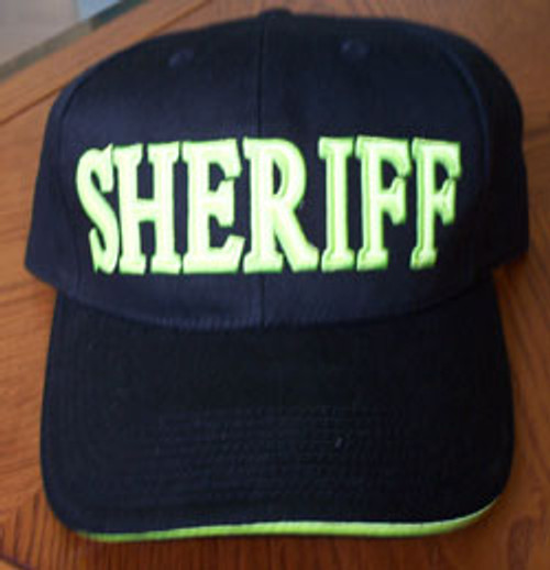 Sheriff's Hat with Reflective Materials