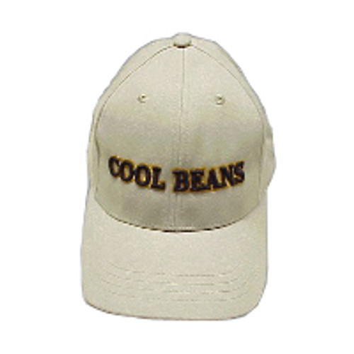 Cool Beans 3D Hat - Khaki