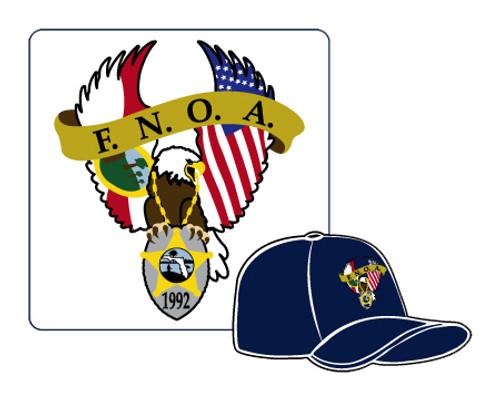 F.N.O.A. Navy Blue Hat