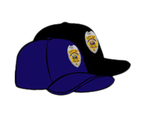 TPD Tallahassee Badge Hats